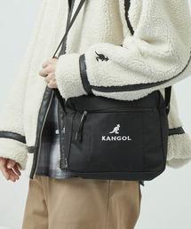 ▽WEB限定 KANGOL/カンゴール MONO-MART別注 ミニショルダーバッグブラック