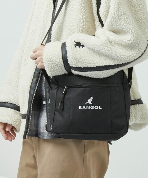 ▽WEB限定 KANGOL/カンゴール MONO-MART別注 ミニショルダーバッグ