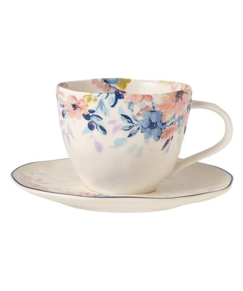 Francfranc(フランフラン)の「プリマーレ カップ&ソーサー ホワイト(食器)」|マルチ