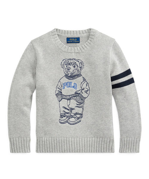 2851d59615046 Polo Ralph Lauren Childrenswear(ポロ キッズ)の「エンブロイダード Polo ベア セーター