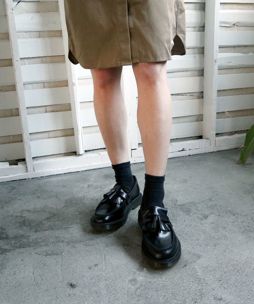 【Dr.Martens/ドクターマーチン】R24369001 ADRIAN PW PLSHD TASSEL LOAFER BK(UK)