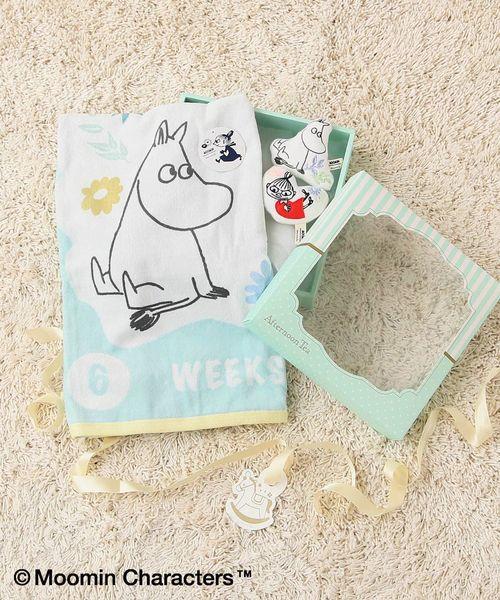 【WEB限定】Moomin×AfternoonTea/ベビー月齢タオルギフトセット