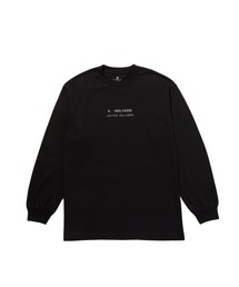 N-HOOLYWOOD.COM EXCLUSIVE LONG SLEEVE T-SHIRTブラック