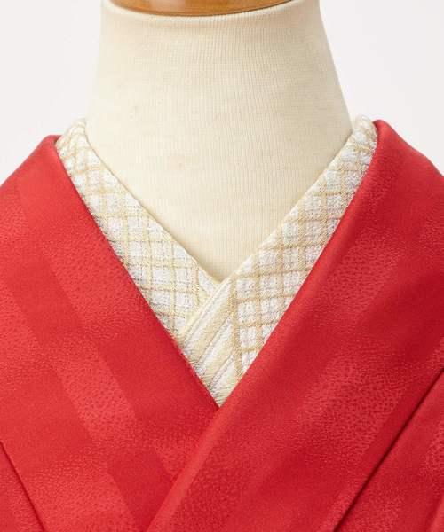 刺繍半衿「シマチェ」