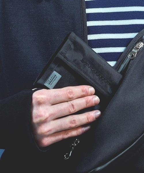 beruf baggage(ベルーフバゲッジ)の「【beruf baggage / ベルーフバゲージ】【GEARED】HANDY WALLET ハンディ ウォレット 2つ折り財布(財布)」|ブラック