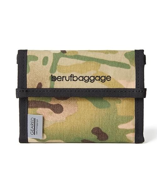 beruf baggage(ベルーフバゲッジ)の「【beruf baggage / ベルーフバゲージ】【GEARED】HANDY WALLET ハンディ ウォレット 2つ折り財布(財布)」|カモフラージュ