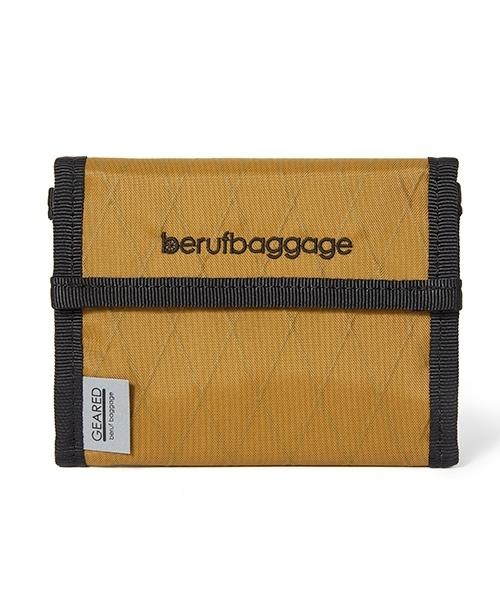 beruf baggage(ベルーフバゲッジ)の「【beruf baggage / ベルーフバゲージ】【GEARED】HANDY WALLET ハンディ ウォレット 2つ折り財布(財布)」|カーキブラウン