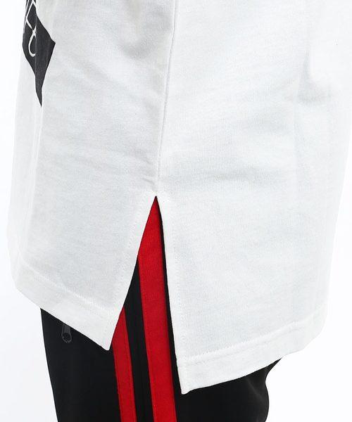 半袖ビッグシルエットプリントTシャツ
