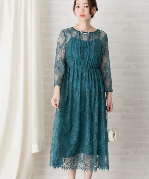 【超歓迎】 【WEB限定】配色レースミディドレス(ドレス) RESEARCH ROSSO|URBAN RESEARCH URBAN ROSSO WOMEN(アーバンリサーチ ロッソ)のファッション通販, シャドール:fdecaefa --- 888tattoo.eu.org