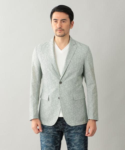 【 新品 】 クールドッツフラワープリントジャケット, COOLA 0a9ef81f