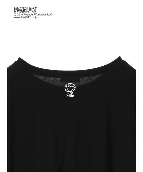 Snoopy/earthTシャツ