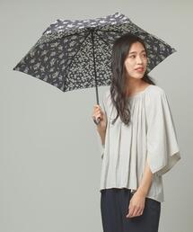 <because>フラワーパッチワーク 折りたたみ傘
