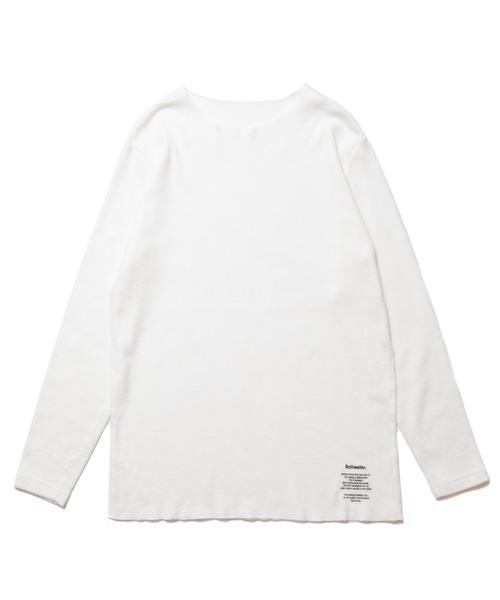 ROTTWEILER(ロットワイラー)の「Cutoff Thermal(Tシャツ/カットソー)」 ホワイト