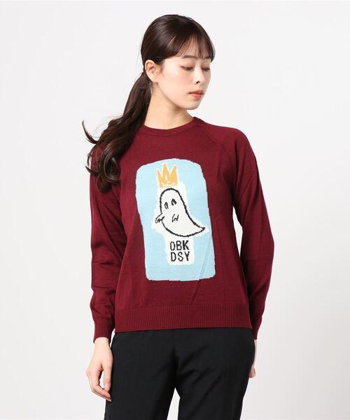 【在庫有】 【GROUPIE】グルーピー/ OBK ,THE PO KNIT(ニット PO/セーター) GROUPIE(グルーピー OBK )のファッション通販, ペット用品のPePet(ペペット):70f61efb --- skoda-tmn.ru