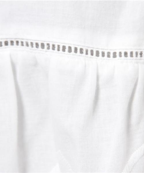 Soffitto /  綿刺繍レース オフショルダーブラウス