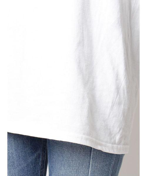 メッセージプリントロングTシャツ