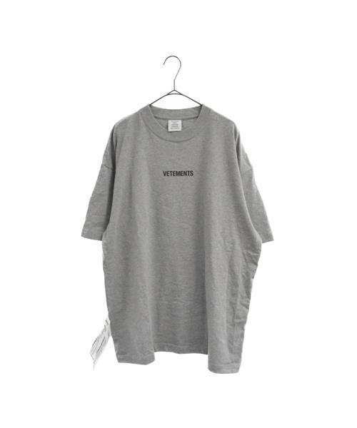 男女兼用 【ブランド古着】フロントロゴオーバーサイズ 半袖Tシャツ(Tシャツ/カットソー) VETEMENTS(ヴェトモン)のファッション通販 - USED, ヤチヨマチ:36cf9b46 --- skoda-tmn.ru