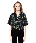 CLANE | BACK PLEATS ROOM FLOWER SHIRT(シャツ・ブラウス)
