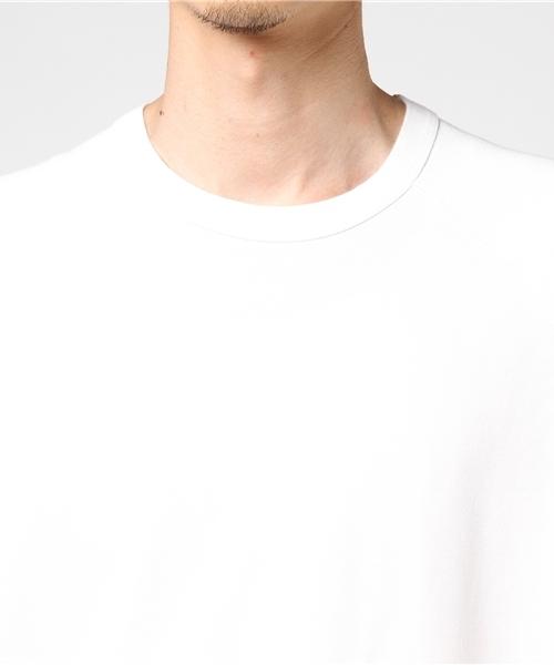 ワンポイントロゴ半袖スウェット