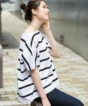 Traditional Weatherwear | BOATNECK SHORTSLEEVE TOP(Tシャツ・カットソー)