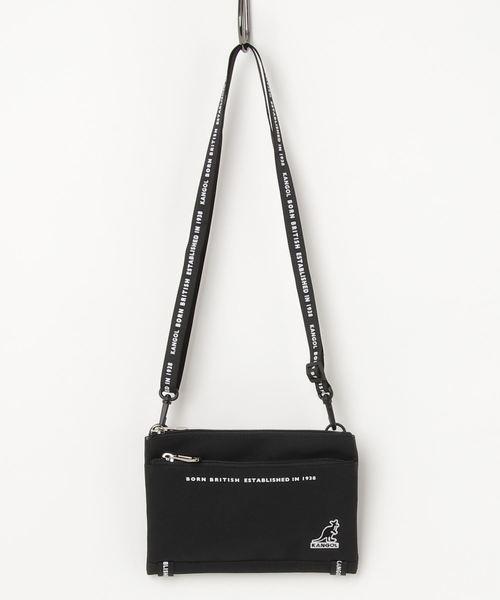 <KANGOL> mini サコッシュ お財布ショルダー