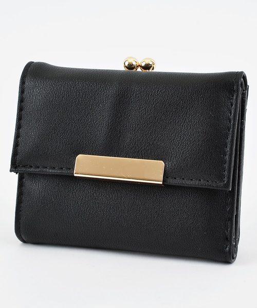 レンがま口折り財布 ミニウォレット