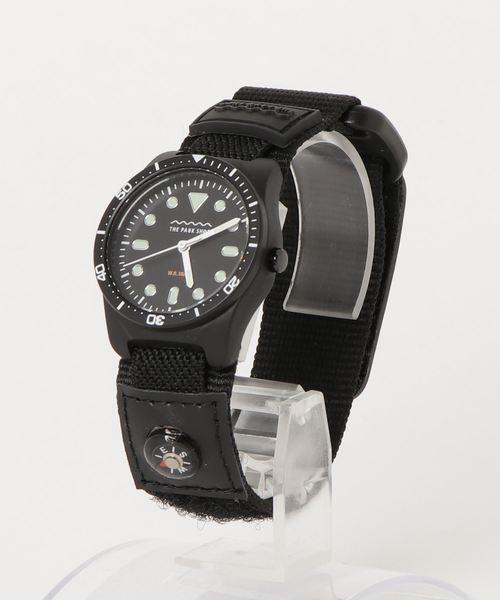 THE PARK SHOP(ザパークショップ)の「【THE PARK SHOP】パークショップ diverboy watch(腕時計)」|ブラック
