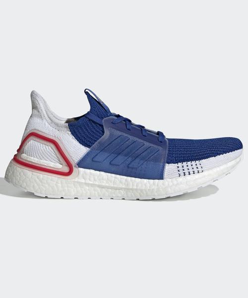 adidas(アディダス)の「ウルトラブースト19 [ULTRABOOST 19 SHOES] アディダス(スニーカー)」|ホワイト×ブルー