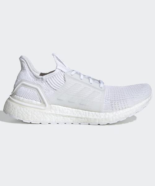 adidas(アディダス)の「ウルトラブースト19 [ULTRABOOST 19 SHOES] アディダス(スニーカー)」|ホワイト×ホワイト