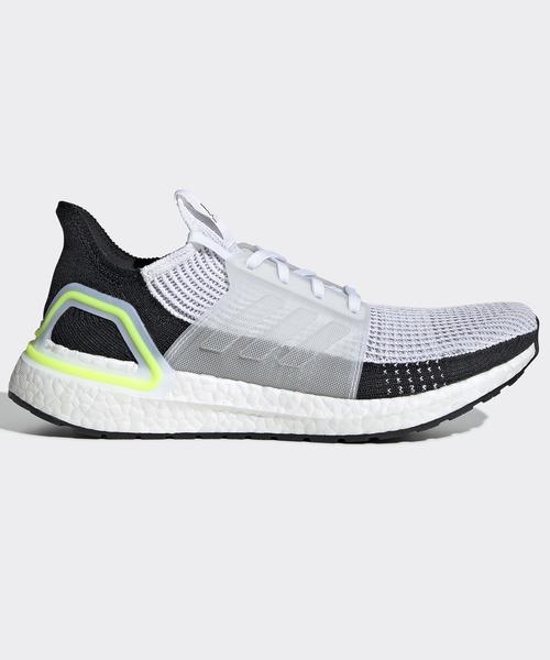 adidas(アディダス)の「ウルトラブースト19 [ULTRABOOST 19 SHOES] アディダス(スニーカー)」|ホワイト×グレー