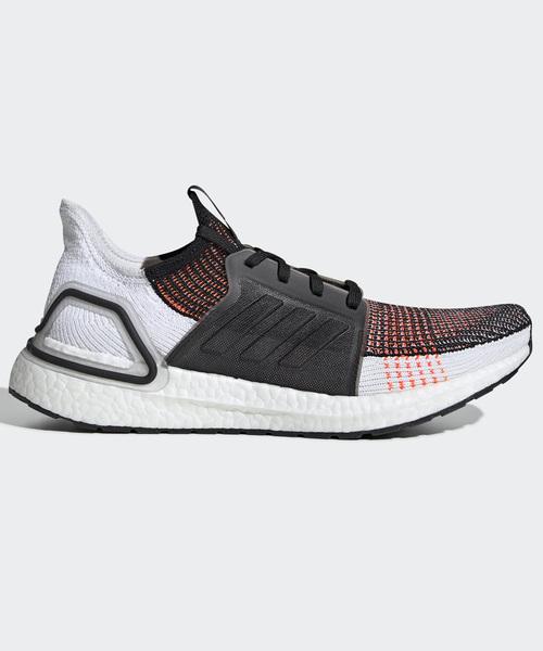 adidas(アディダス)の「ウルトラブースト19 [ULTRABOOST 19 SHOES] アディダス(スニーカー)」|ブラック×ホワイト