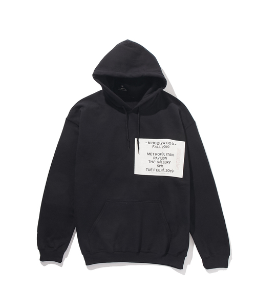 FALL2019 HOODED SWEAT SHIRT