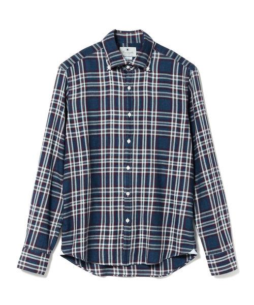 【在庫僅少】 GIANNETTO// 別注 タータンチェック per ボタンダウンシャツ(シャツ MEN,ビームス/ブラウス)|GIANNETTO(ジャンネット)のファッション通販, BLUE WING ブルーウイング:028a29a8 --- hausundgartentipps.de