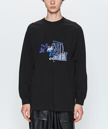 <AVALONE> 2PANEL LS TEE01/Tシャツ