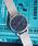 KOMONO.(コモノ)の「【KOMONO/コモノ】WINSTON ROYALE(腕時計)」 シルバー×ブルー