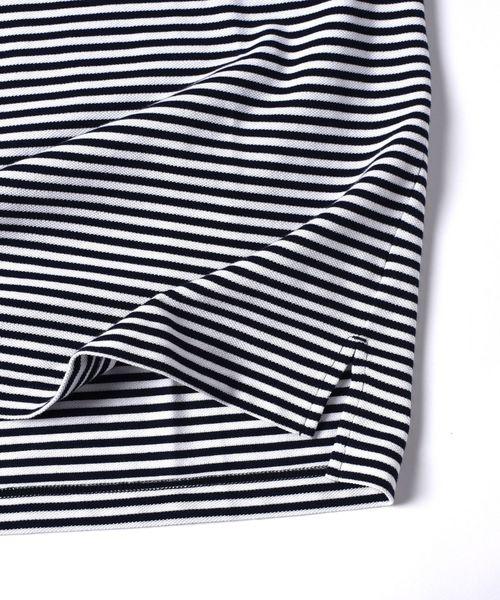 LACOSTE: 別注 ドロップテイル ビッグ ポケット Tシャツ□