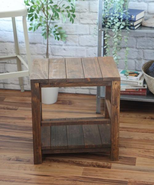 niko and...(ニコアンド)の「オリジナルシェルフベンチ1P(家具)」|ブラウン