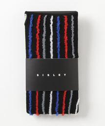 SISLEY(シスレー)のマルチストライプシームソックス・靴下(ソックス/靴下)