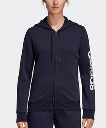 adidas(アディダス)のW リニアロゴ フルジップ フーディー / アディダス(パーカー)