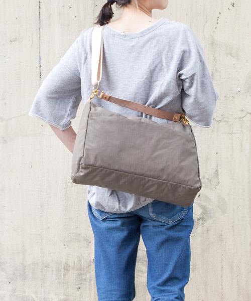 【ANONYM CRAFTSMAN DESIGN / アノニムクラフツマンデザイン】OBI SHPULDER BAG M ショルダーバッグ
