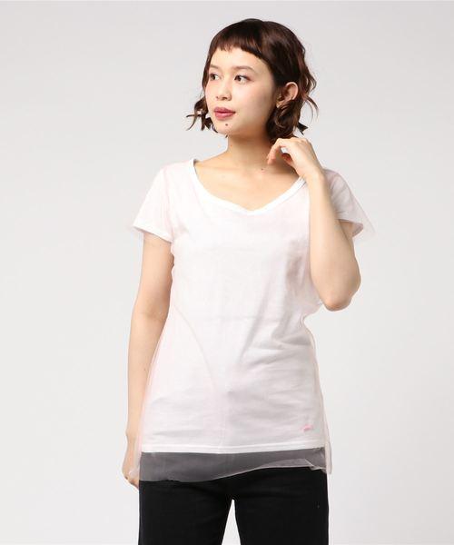 当季大流行 【セール】stud./スタッド/TULLE FLASH,ロイヤル TEE(Tシャツ ウィメン,ROYAL/カットソー) FLASH|stud.(スタッド)のファッション通販, まざっせこらっせ:81fcad61 --- pyme.pe
