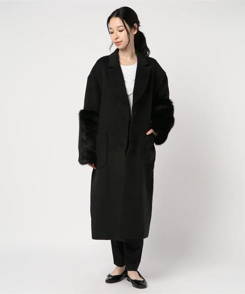 【大特価!!】 【セール】エコファースリーブコート(テーラードジャケット) SPIRALGIRL(スパイラルガール)のファッション通販, バッグ財布革小物ZeroGravity:da267bcf --- steuergraefe.de