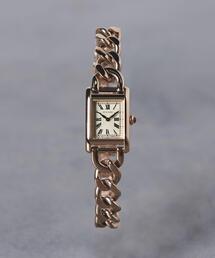 UNITED ARROWS(ユナイテッドアローズ)のUBCB スクエア メタル チェーン 腕時計†(腕時計)