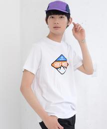 キャンププリントTシャツ
