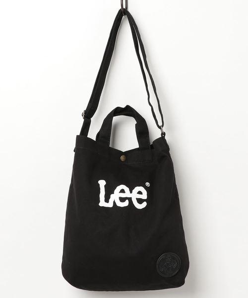 6c3606f8e31e and it_(アンドイット)の【Lee/リー】2WAYキャンバスショルダートート