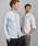 Ted Baker(テッドベーカー)の「STUART リネンxコットン混 長袖シャツ(シャツ/ブラウス)」|ライトブルー
