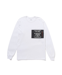 FALL2019 LONG SLEEVE T-SHIRTホワイト