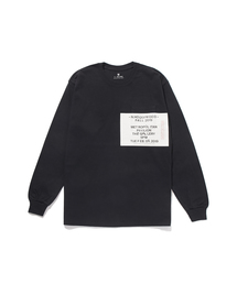 FALL2019 LONG SLEEVE T-SHIRTブラック