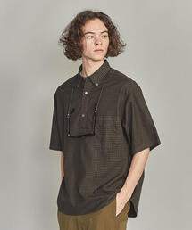 BY ギンガムチェック オーバーサイズ シャツ