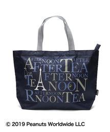 Afternoon Tea(アフタヌーンティー)のPEANUTS/ロゴバッグS(トートバッグ)